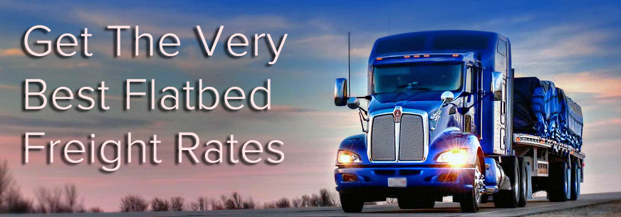 Best Flatbed Freight Rates