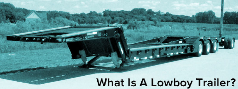 Lowboy Trailer Vs Rgn Trailer Definition Flatbed Truck