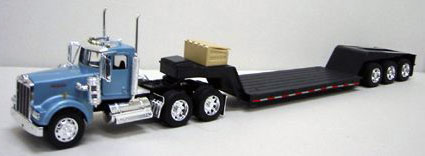 Semi-Truck Trailer Step Deck