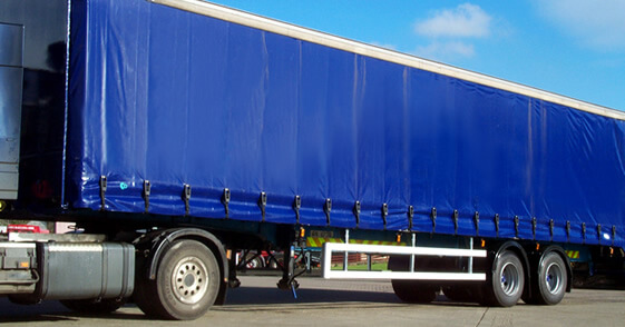 Curtainside Trailer Curtain Van