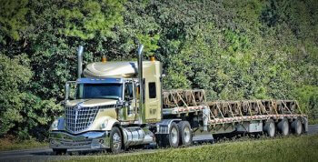 Flatbed Truck Northwest Gold