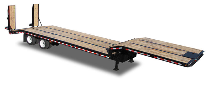 Standard Drop Deck Flatbed Trailer